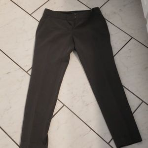 Ann Taylor charcoal gray pleated dress pant size 2